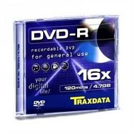 TRAXDATA OPTIČKI MEDIJ DVD-R 16X SLIM BOX 1