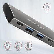 USB HUB AXAGON HMC-4G2 2xUSB3.2 Gen 2, 2xUSB-C