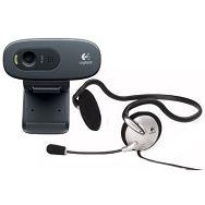 WEB kamera Logitech C270h HD + Slušalice