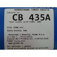 Zamjenska toner kaseta HP CB435A
