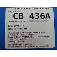 Zamjenska toner kaseta HP CB436A