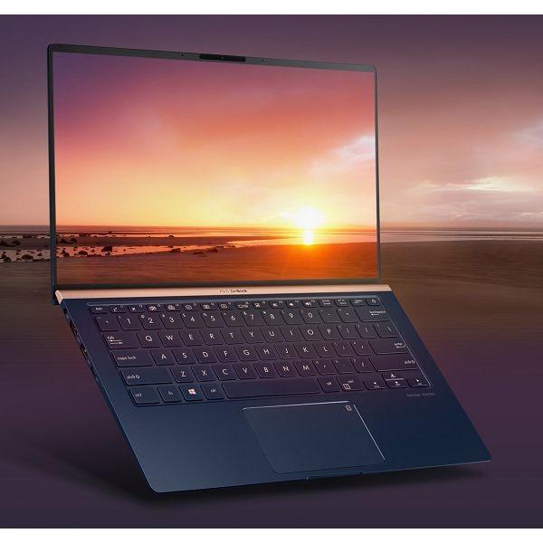 Laptop ASUS ZenBook 14 UX433FA-A5062T i5-8265U/8GB/SSD 256GB NVMe/14,0'' FHD/W10/Royal Blue (90NB0JR1-M00790)