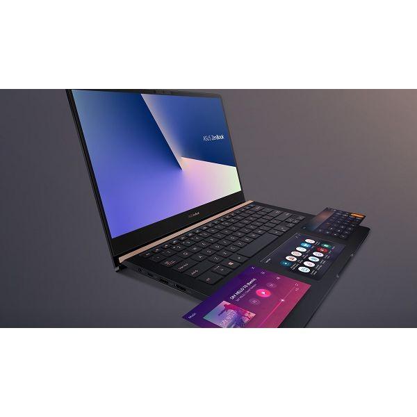 Laptop ASUS ZenBook Pro 14 UX480FD-BE012R i7-8565U/16GB/SSD 512GB NVMe/14''FHD/GTX 1050 Max-Q/W10Pro (90NB0JT1-M01430)